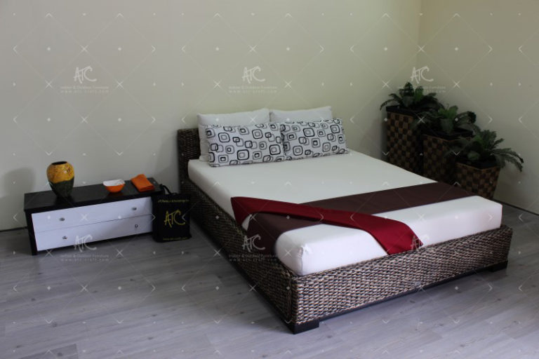 bedroom water hyacinth furniture WAIS-120-3