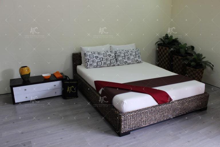 bedroom water hyacinth furniture WAIS-120-3