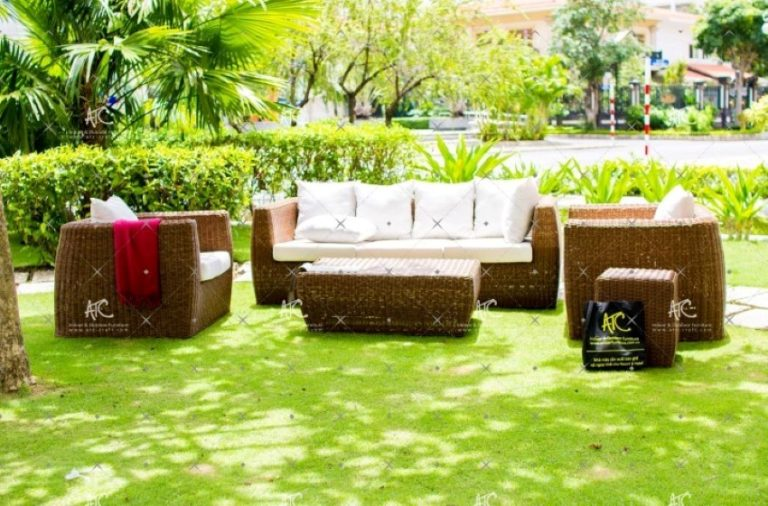 Garden wicker furniture RASF 082