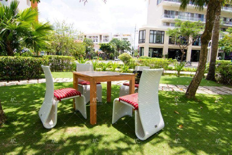 Outdoor wickerdining furniture RADS-151