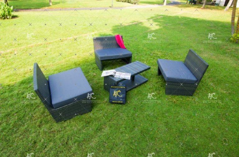 Outside wicker furniture RASF 041
