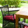 poly rattan dining chair rads 031 4