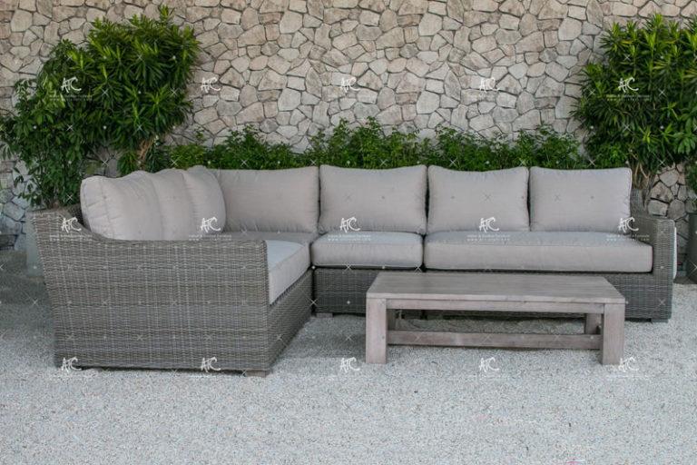 Rattan corner sofa set RASF 126