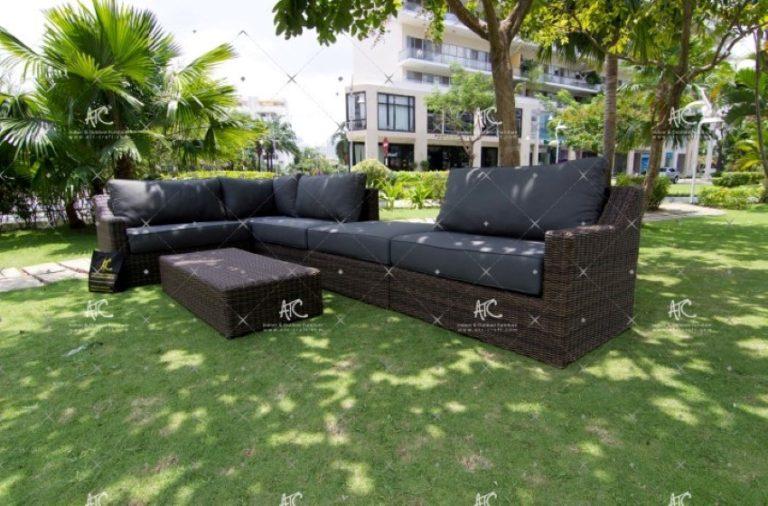 Rattan garden sofas RASF 094