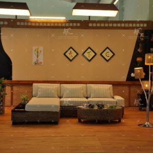 sofa indoor wicker furniture sets WAIS-219