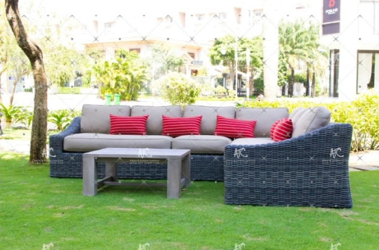 Wicker furniture outdoors RASF 126