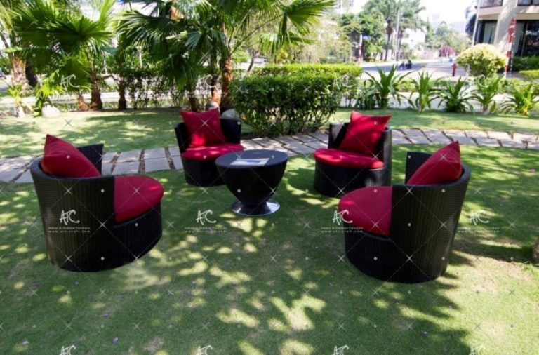Wicker garden furniture RASF 101