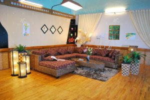 wicker indoor sofa sets WAIS-119