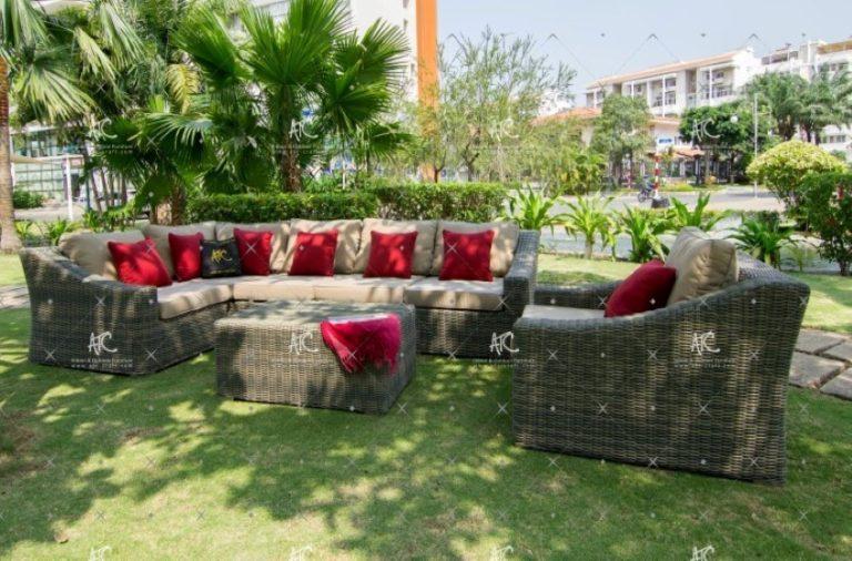 Wicker patio furniture sets RASF 087
