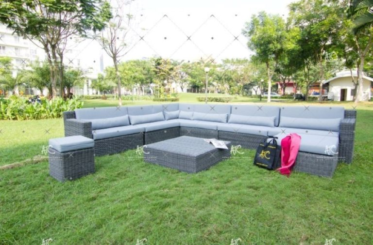 Wicker sofa set RASF 003