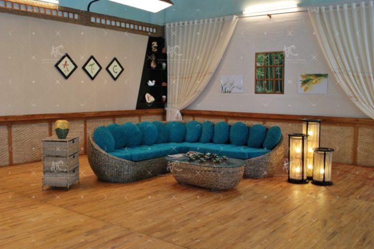 indoor sofa water hyacinth furniture