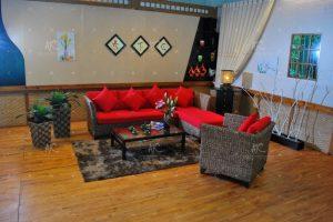 Indoor sofa water hycinth WAIS-004