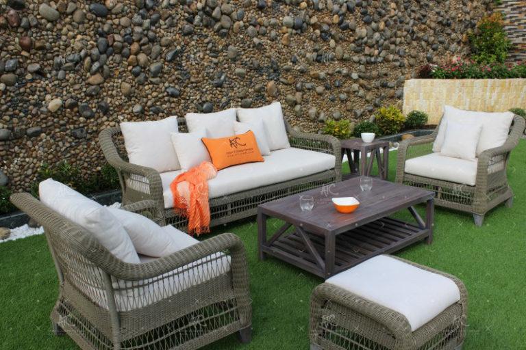 Outdoor cane furniture RASF-121