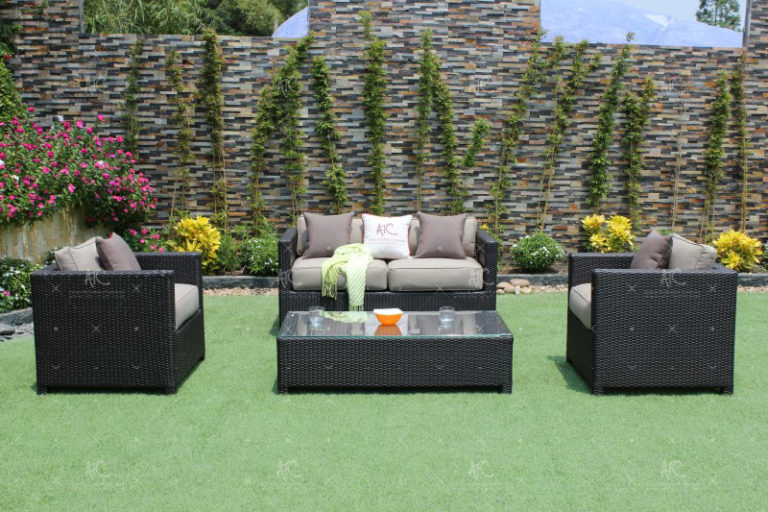 poly rattan sofa sets RASF-002A