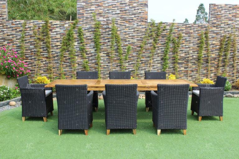 Rattan dining set outdoor RADS-018