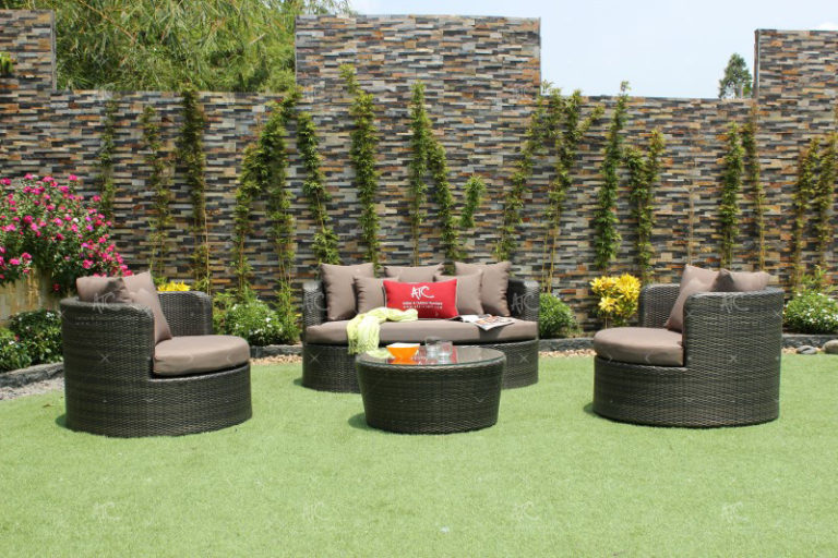 Rattan patio furniture rasf-044