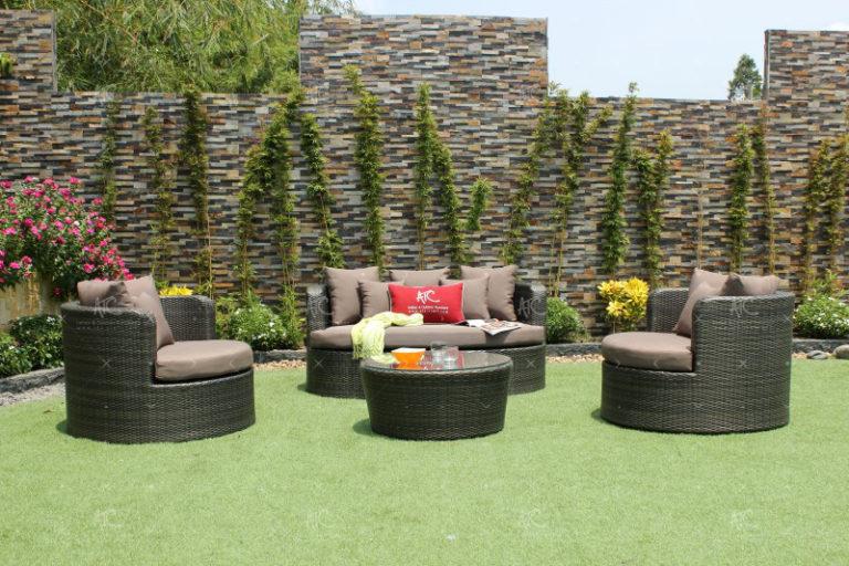 Rattan patio furniture rasf-044