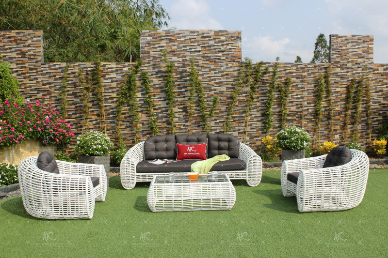 Synthetic rattan garden furniture RASF-053