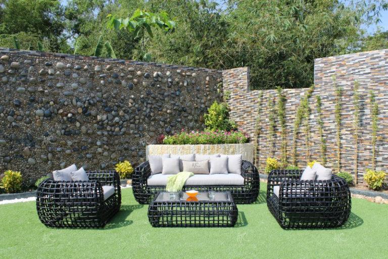 Synthetic rattan garden furniture RASF-056