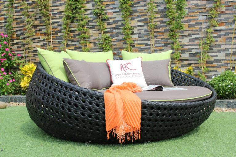 wicker patio furniture wholesale RABD-058
