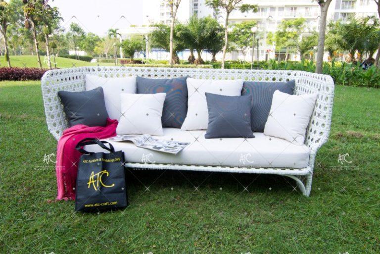 Outdoor rattan sofa set RASF-020