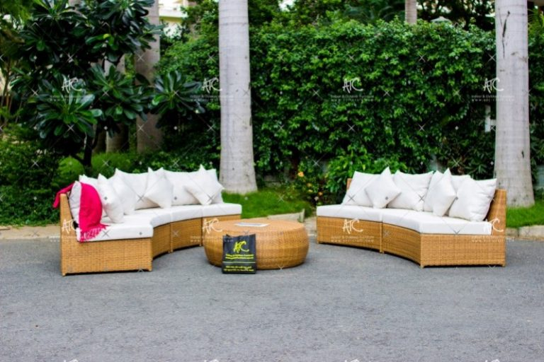 Poly rattan sofa set RALI-005