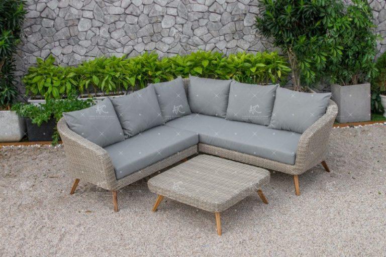 Poly rattan sofa set RASF-140