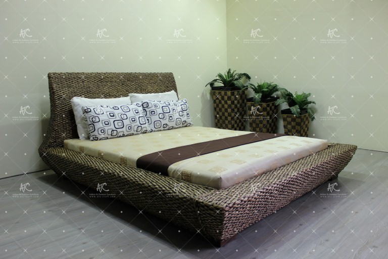 bedroom water hyacinth furniture WAIS 043