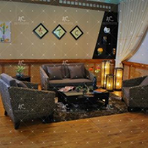 Indoor sofa water hyacinth WAIS-022