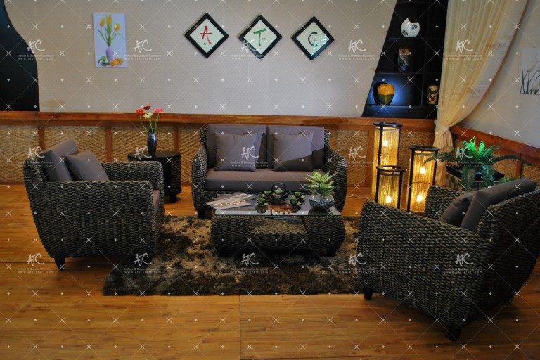 Water hyacinth sofa sets WAIS-001