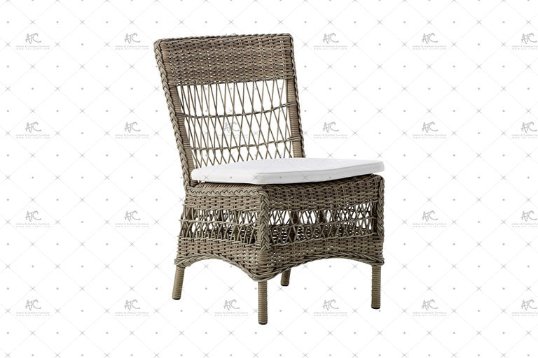 Poly rattan dining set RADS-175