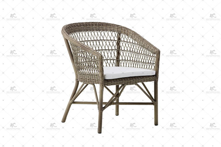 Poly rattan dining chair RADS-176