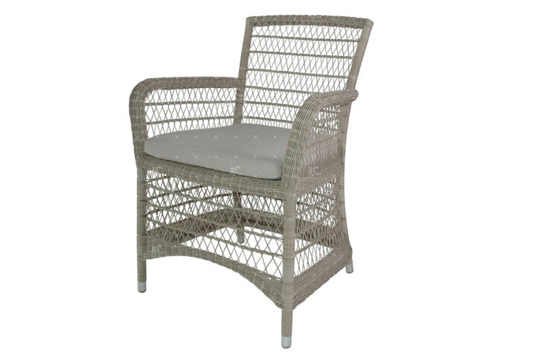 Poly rattan outdoor dining set RADS-174