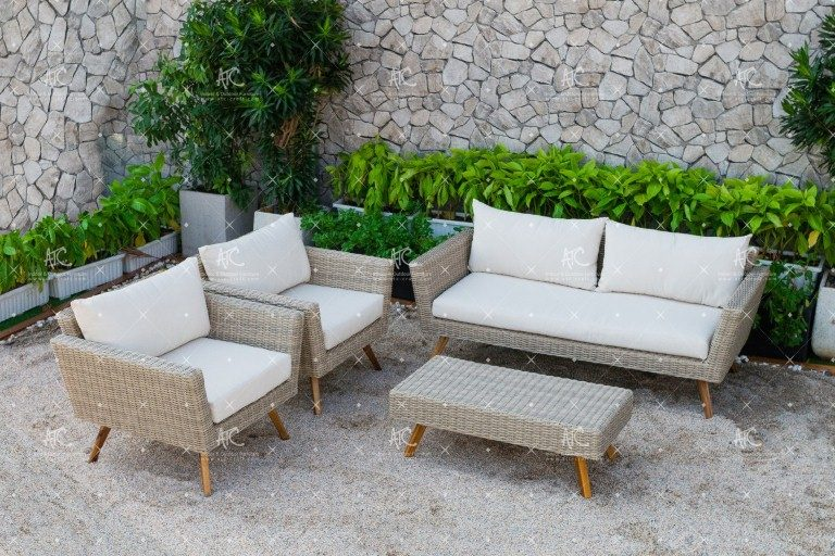 poly rattan sofa set rasf-130-38