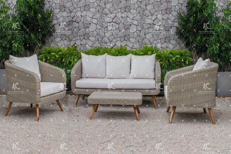 Poly rattan sofa sets RASF-141