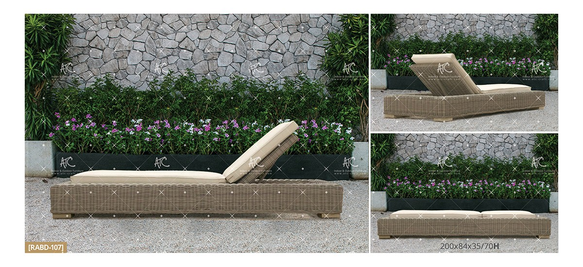 Aland Collection Outdoor Daybed 20