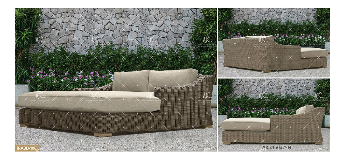 Aland Collection Outdoor Daybed 21