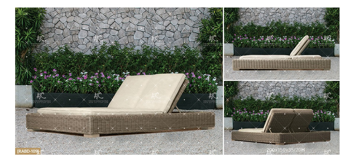 Aland Collection Outdoor Daybed 22