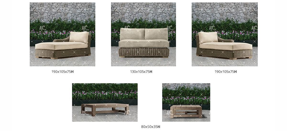 Aland collection Sofa Set 9