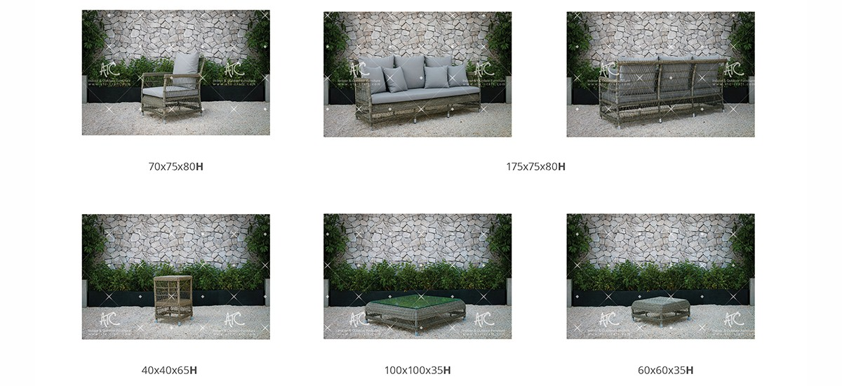 devon outdoor furniture garden rattan single sofa