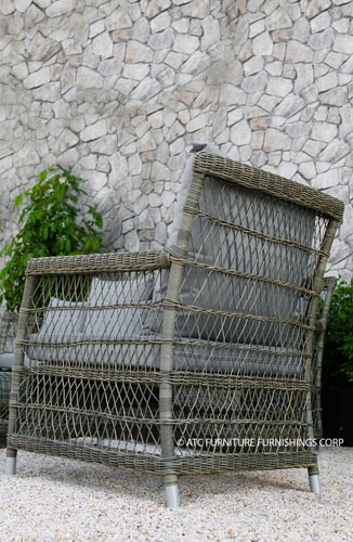 devon outdoor furniture wicker armchair