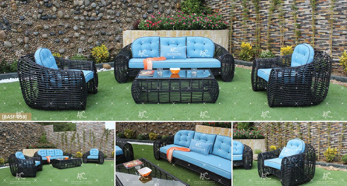 eagle garden furniture synthetic wicker sofa set