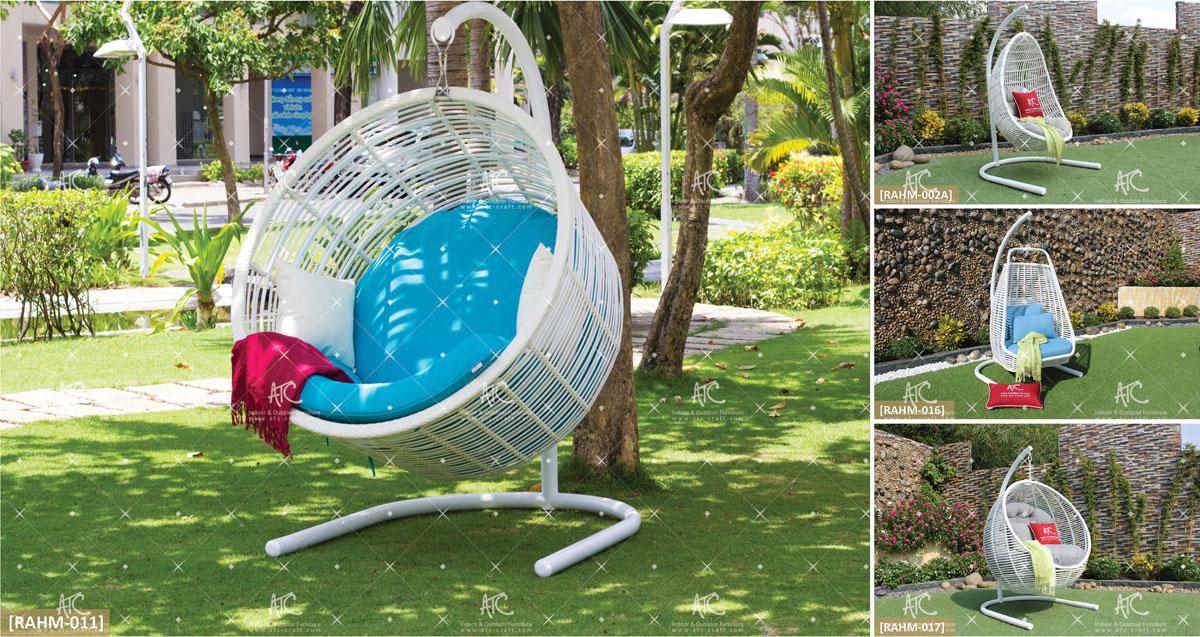 eagle outdoor furniture pe rattan egg hammock hanging chair