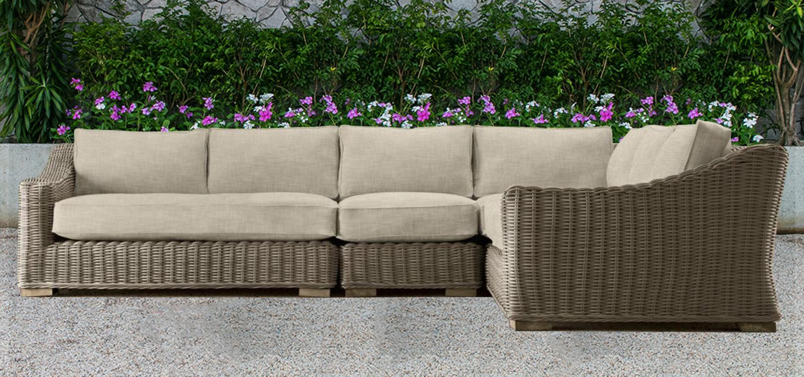 Aland collection outdoor sofa 3