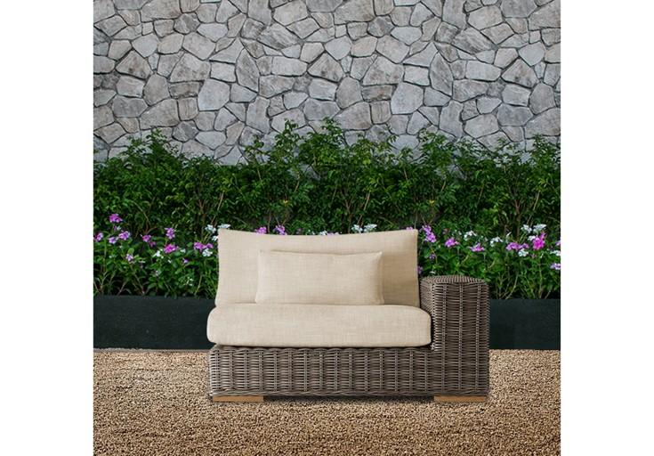 Bora wicker furniture single sofa