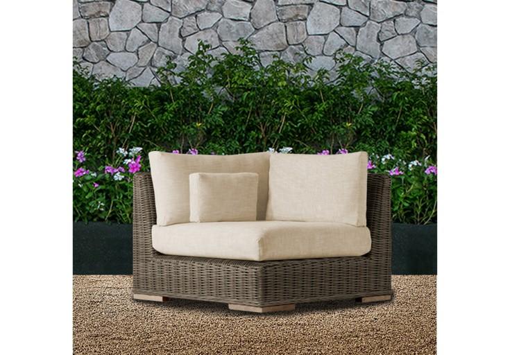 Bora patio furniture single sofa