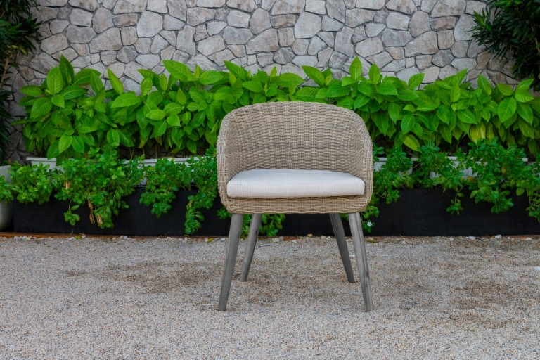 canary pe rattan garden furniture armchair