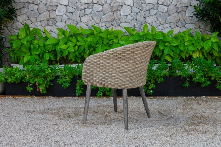 canary poly rattan outdoor furniture armchair