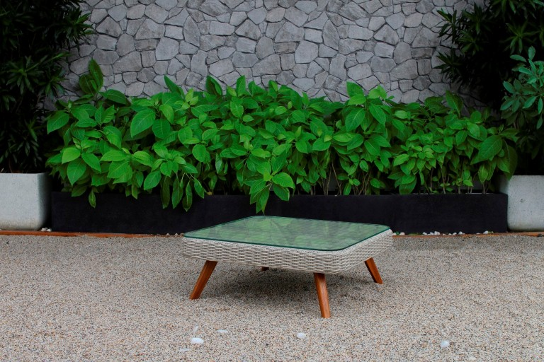 canary rattan garden furniture table