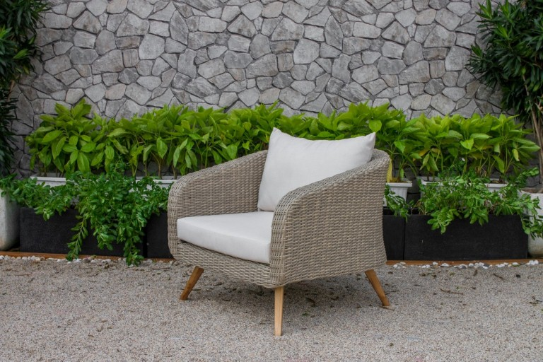 canary rattan patio furniture armchair